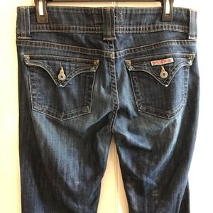 Hudson Mid-Rise Bootcut Jeans Size 30